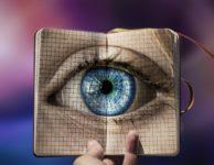 Eye Eyes Blue Iris Woman Person
