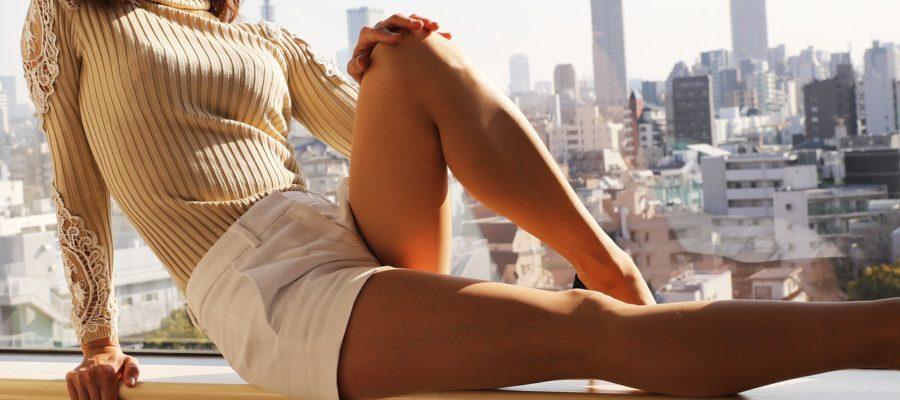 Women Model Windows Woman