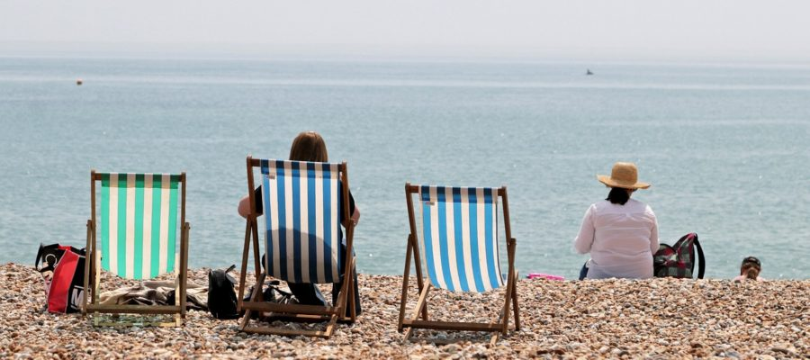 Deck Chairs Seaside Beach Sea  - ShepherdMedia / Pixabay